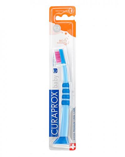 Cepillo Dental Baby azul-rosa