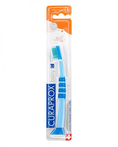 Cepillo Dental Baby azul-verde