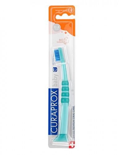 Cepillo Dental Baby verde-azul
